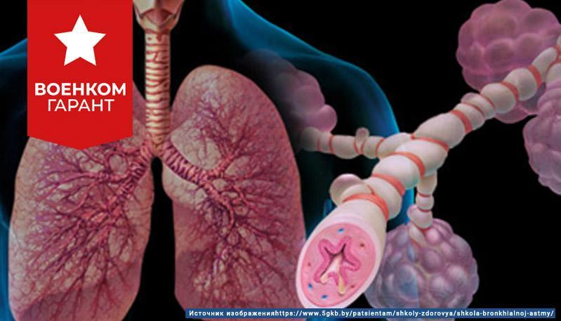 Могут ли забрать в армию с бронхиальной астмой